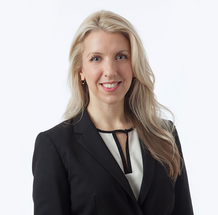 Tiffany Little personal injury litigation lawyer in Barrie