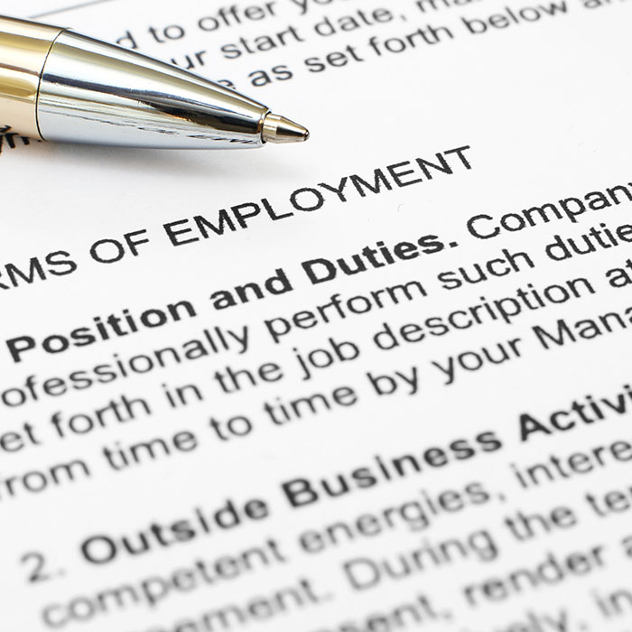 Employment Law Barrie  Employment Contracts  Stewart Esten Firm