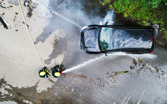Car accidents increase in warmer months